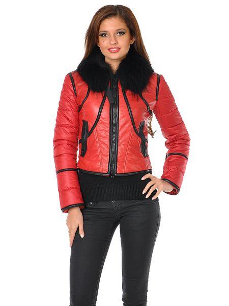 Куртка из плащевки - красная Mor`a