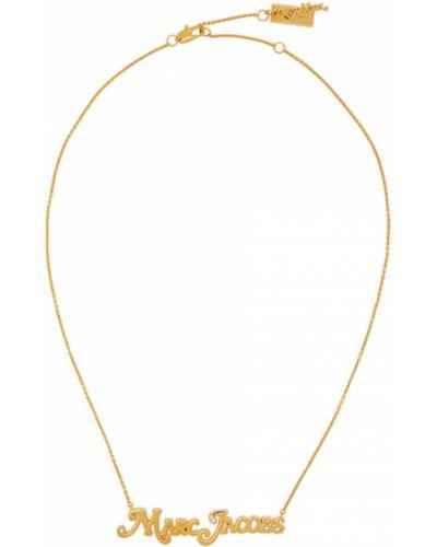 Ожерелье золотое Marc Jacobs