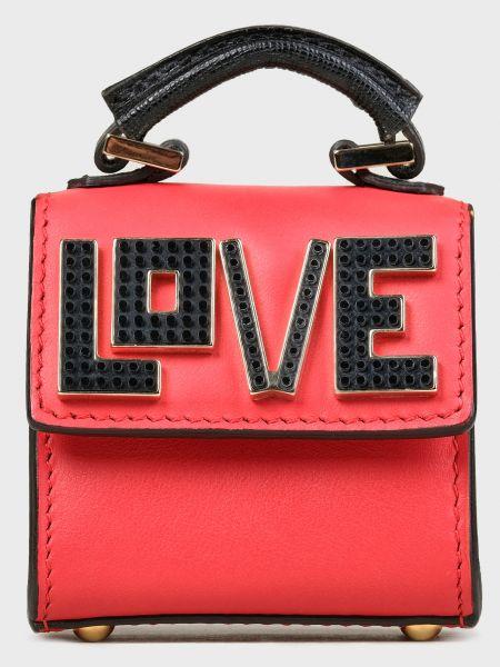 Кожаная красная кожаная сумка Les Petits Joueurs