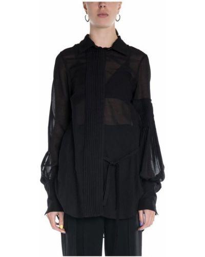 Czarna koszula Ann Demeulemeester