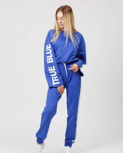 Спортивный костюм синий Street Style