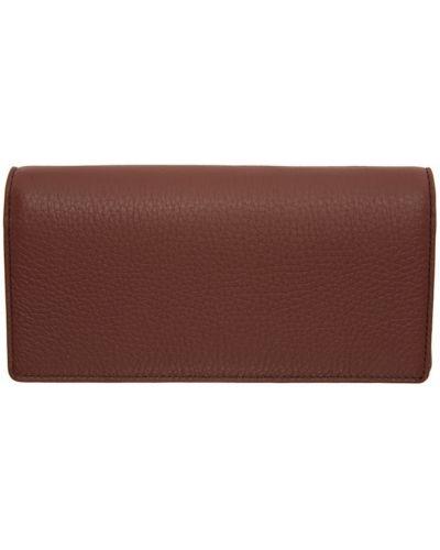 Biały portfel z gniazdem wytłoczony z kieszeniami Maison Margiela