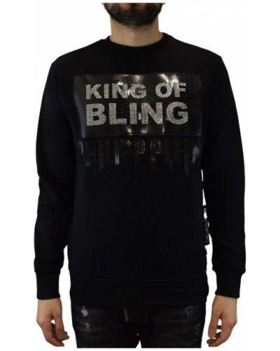 Czarna bluza z długimi rękawami Philipp Plein