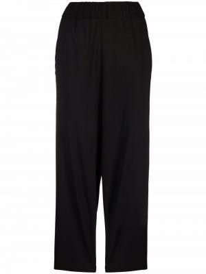 Шерстяные брюки - черные Barena