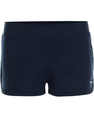 Хлопковые прямые спортивные синие шорты Demix