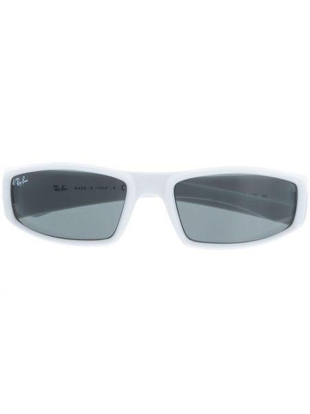 Prosto biały oprawka do okularów prostokątny Ray-ban