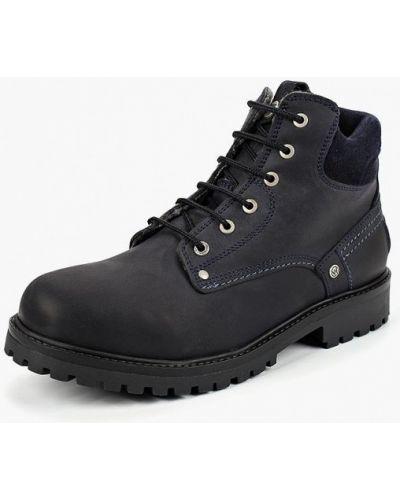 Ботинки осенние высокие из нубука Wrangler