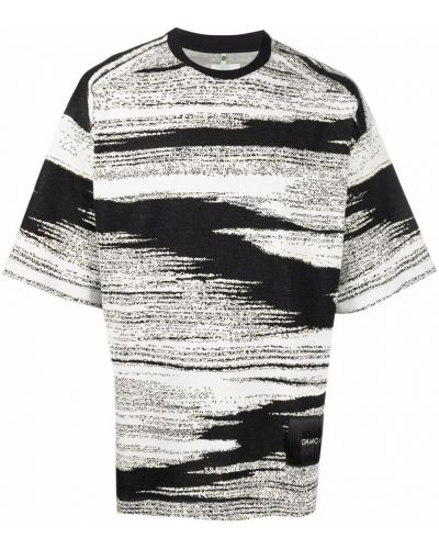 Biała t-shirt z printem Oamc
