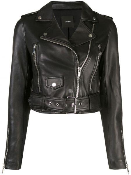 Кожаная куртка черная байкерская Lth Jkt