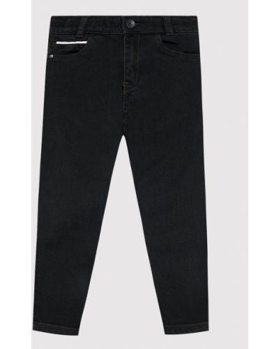 Mom jeans - czarne Boss