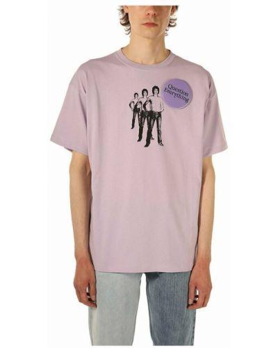 Różowa t-shirt Raf Simons