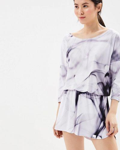 Фиолетовый комбинезон с шортами Colour Pleasure