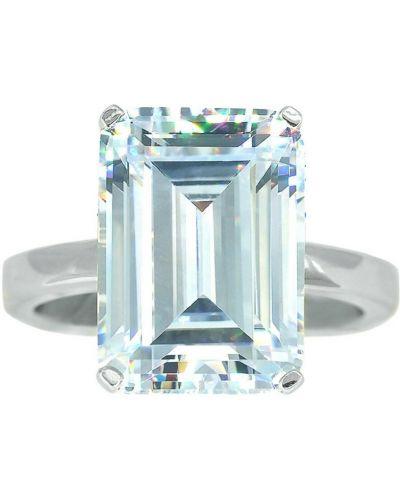 Beżowy pierścionek srebrny Dinari Jewels