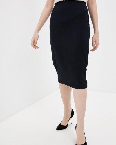 Клубная синяя прямая юбка карандаш Concept Club
