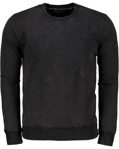 Czarna bluza bawełniana Ombre