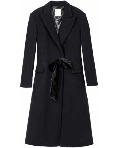 Пальто с поясом однобортное Sandro