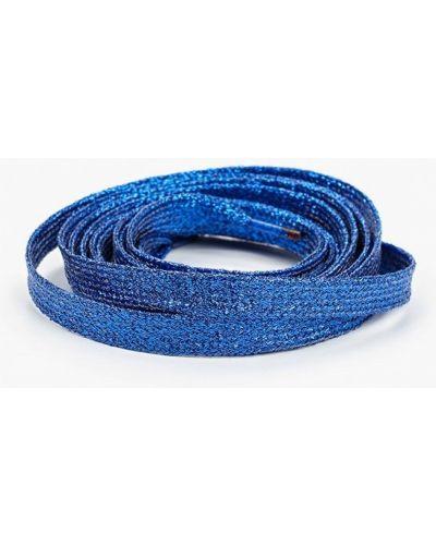 Синие шнурки на шнурках красная жара