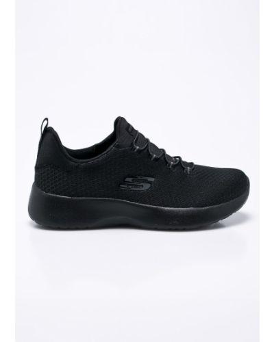 Кроссовки для бега текстильные черные Skechers