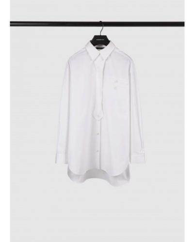 Рубашка оверсайз - белая Barbara Bui