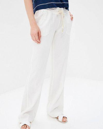 Белые брюки Roxy