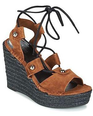 Brązowe sandały Sonia Rykiel