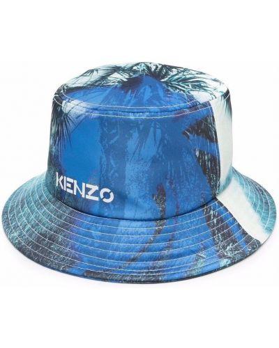 Niebieski kapelusz Kenzo