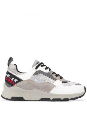 Кожаные кроссовки с логотипом плоский Tommy Hilfiger