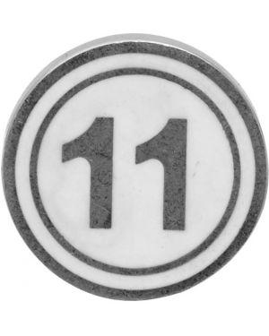 Kolczyki z logo ze srebra Maison Margiela