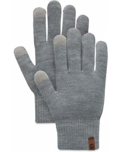 Акриловые серые перчатки Timberland