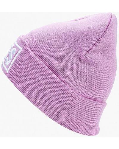 Фиолетовая шапка осенняя Modis