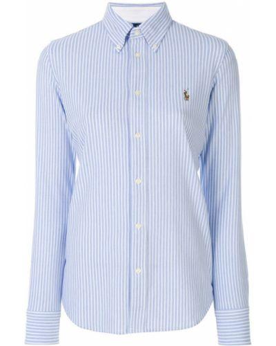Классическая рубашка в полоску Ralph Lauren