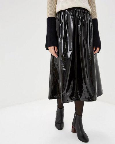 Юбка черная итальянский Miss Miss By Valentina