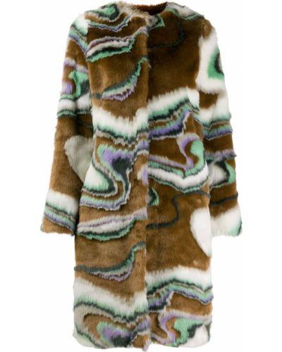 Длинное пальто с капюшоном Marco De Vincenzo