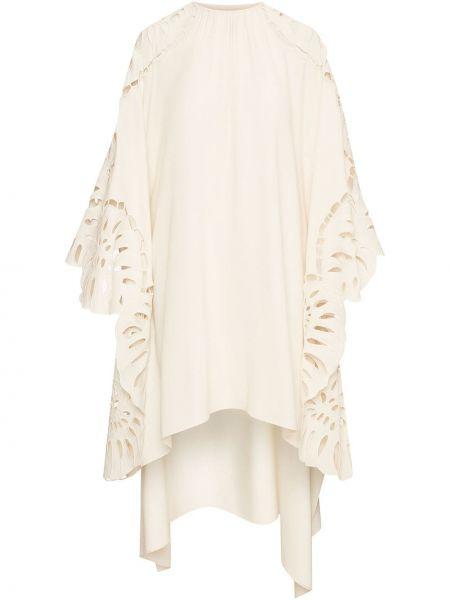 Шелковое платье макси Oscar De La Renta