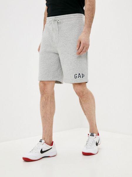 Серые повседневные спортивные шорты Gap