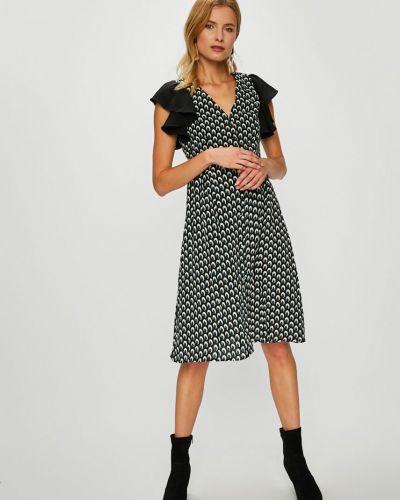 Платье мини на пуговицах расклешенное Answear