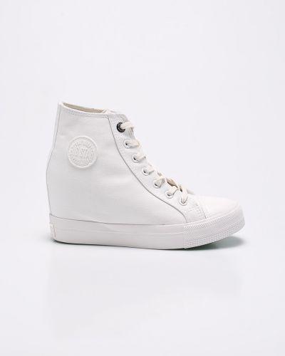 Кеды белые текстильные Big Star