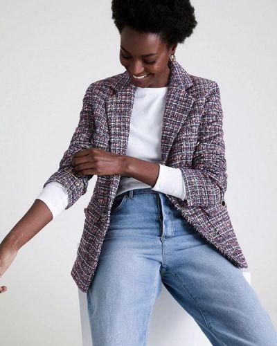 Фиолетовый пиджак Marks & Spencer