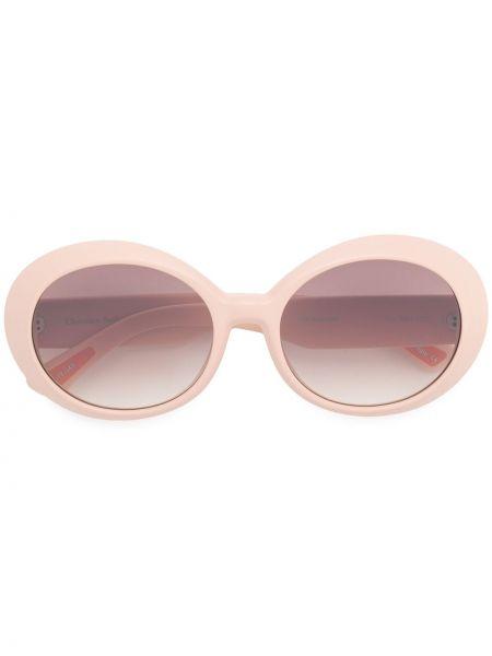 Муслиновые солнцезащитные очки круглые хаки Christian Roth
