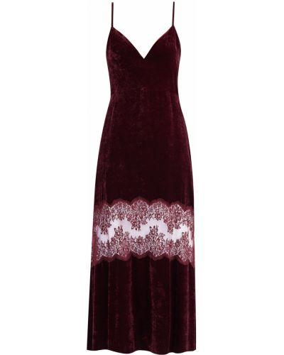 Платье с цветочным принтом с декольте Stella Mccartney