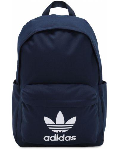 Nylon plecak na paskach z kieszeniami Adidas Originals