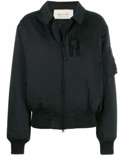 Нейлоновая черная длинная куртка с манжетами 1017 Alyx 9sm