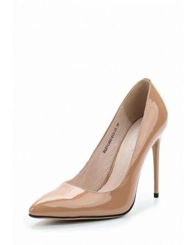 Кожаные туфли на каблуке 2018 La Grandezza
