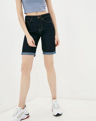Синие джинсовые шорты Defacto