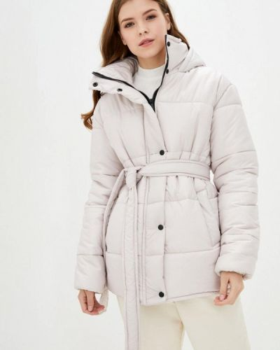 Бежевая теплая куртка Lilove