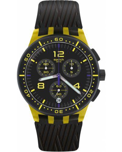 Со стрелками силиконовые модные часы водонепроницаемые Swatch