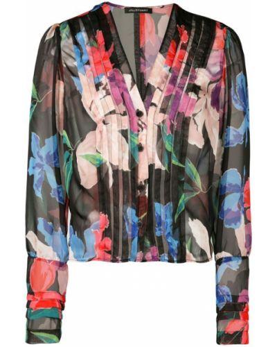 Блузка с манжетами Jill Stuart