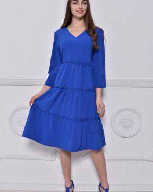 Платье в стиле бохо с V-образным вырезом Nikol