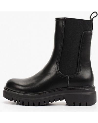 Черные ботинки челси осенние Sweet Shoes
