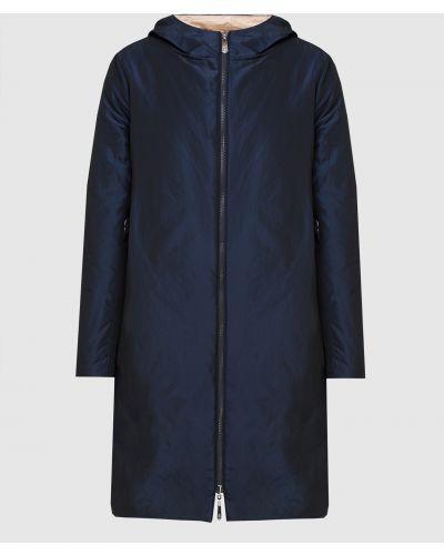 Синяя куртка двусторонняя Peserico